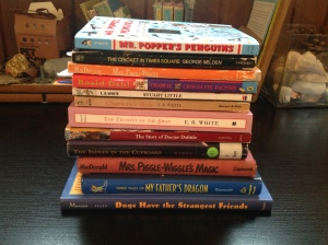 Our read alouds from last school year.